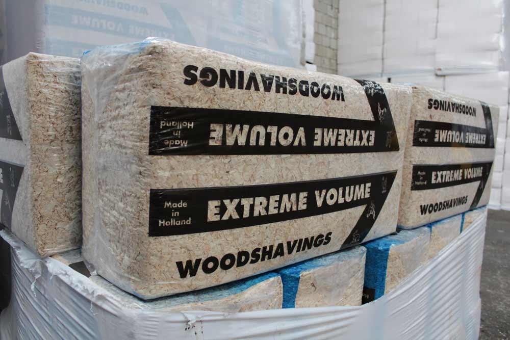 Hedendaags Houtkrullen te koop - Stofvrij houtvezel van blank vurenhout KK-58